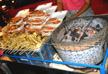 Street Eat Soi Nana 02 - Daves Raves - My First Thailand Trip