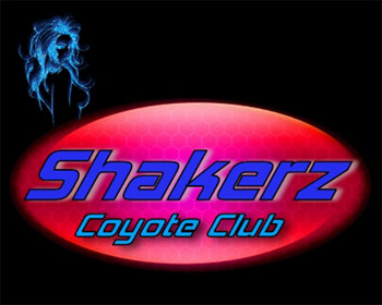 Shakerz Coyote Club Logo