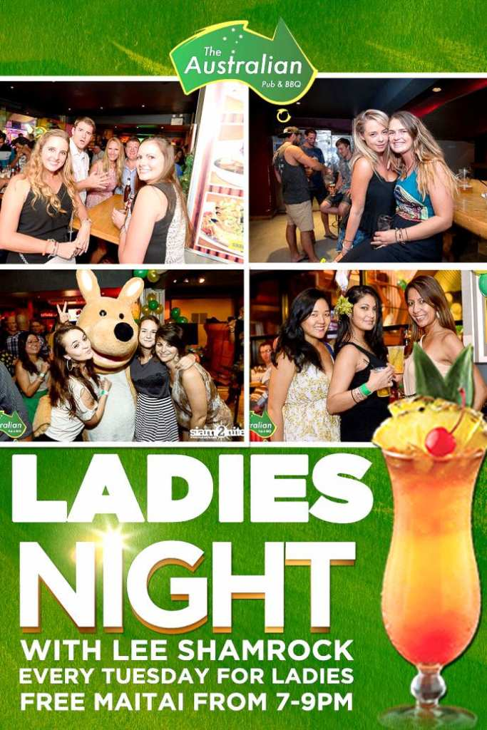 Australian Ladies Night 683x1024 - Lee Shamrock Live Tonight
