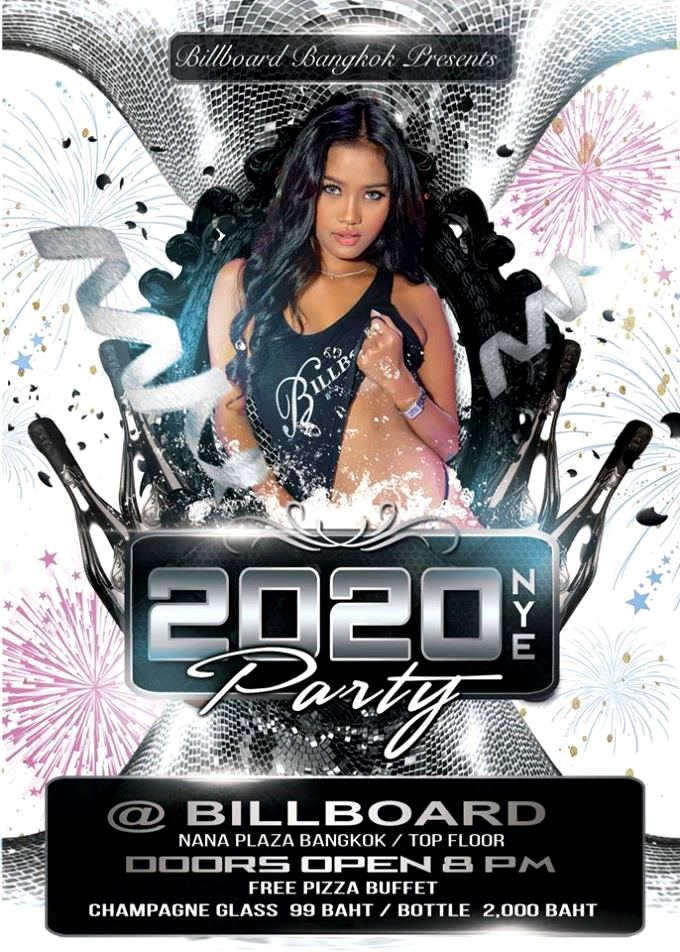 BILLBOARD NYE PARTY - New Year's Eve Party Time!