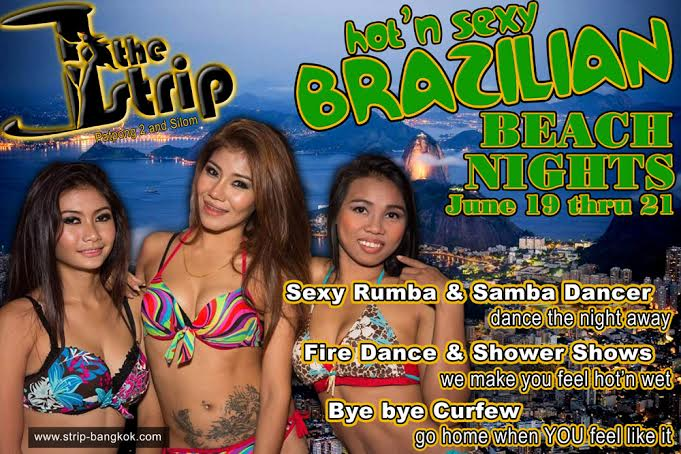 BRAZILIAN BEACH NIGHTS - BRAZILIAN BEACH NIGHTS AT THE STRIP