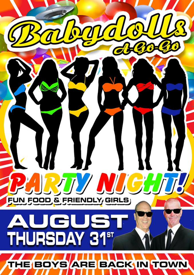 Baby Dolls Party Night - Bangkok & Pattaya Parties Tonight