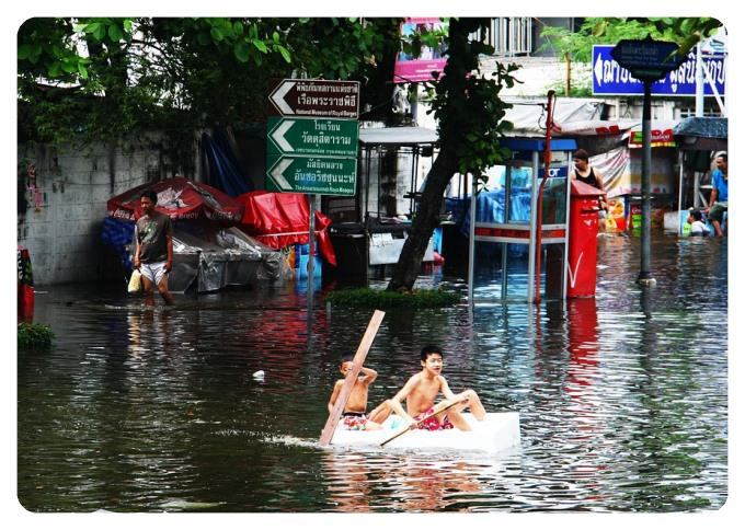 Bangkok Floods - Monsoon Mayhem!