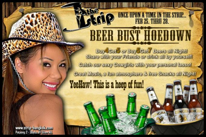 BeerBustHoedown  - HOEDOWN AT THE STRIP GOGO BAR