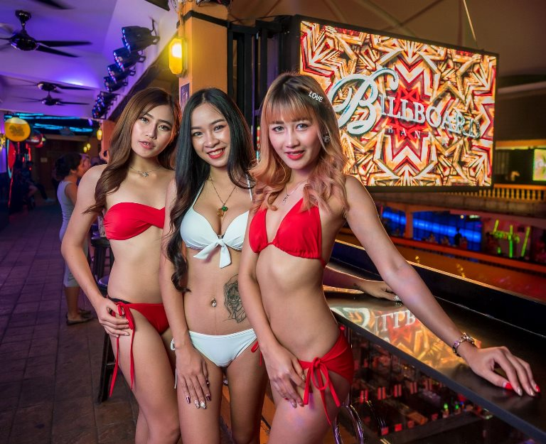 Billboard Bangkok Babes 2 - Billboard Bar Nana Plaza Bangkok