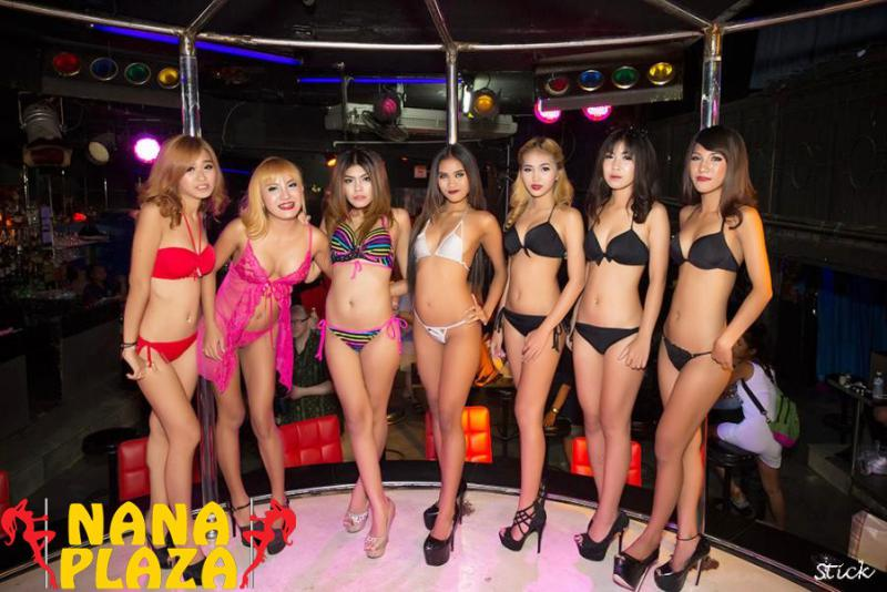 Billboard Nana Plaza Bangkok - STICKMAN VISITS BILLBOARD BAR