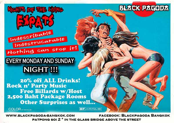VIP EXPAT PARTY NIGHTS AT THE BLACK PAGODA