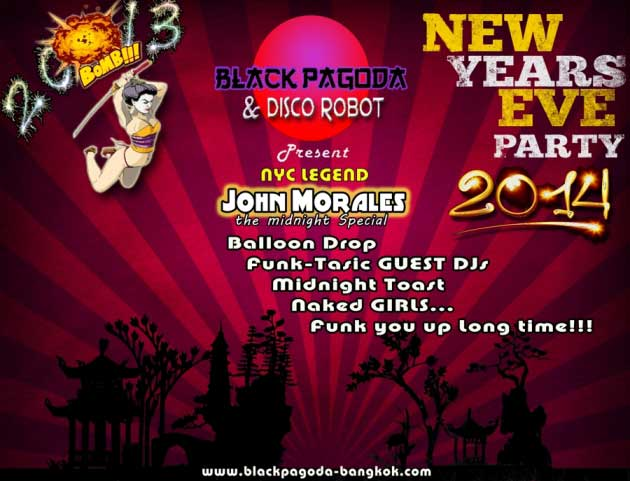 Black Pagoda New Years Eve - Why Not Celebrate New Years Eve In Patpong?