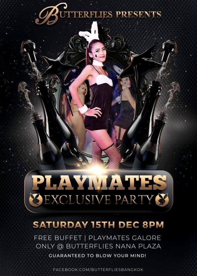 Butterflies Playmates Party - Butterflies Bangkok Playmates Party