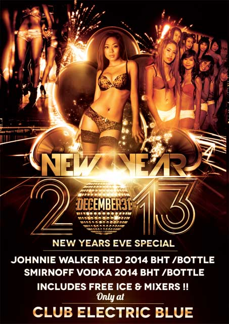 Club Electric Blue Patpong 2 - Why Not Celebrate New Years Eve In Patpong?