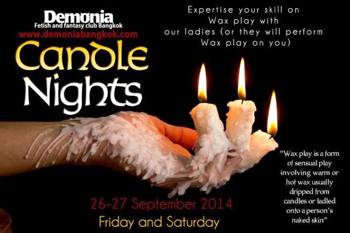 DEMONIA CANDLE NIGHTS - Candle Nights At Demonia Fetish Club