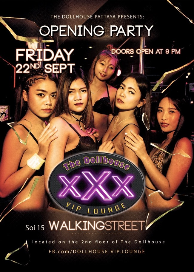Dollhouse Pattaya - Dollhouse Pattaya Opens VIP Lounge