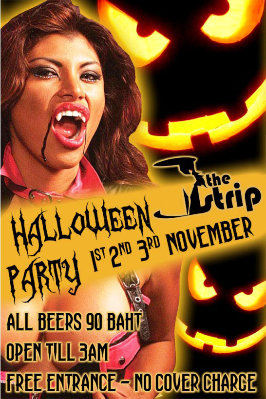 Halloween The Strip Patpong - Halloween Party At The Strip November 1-3