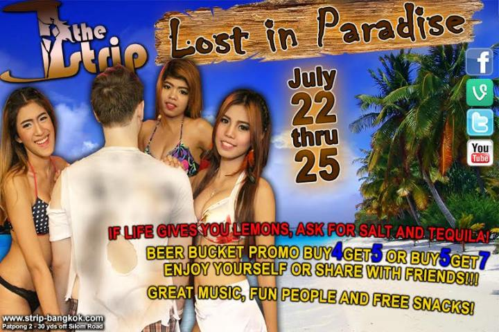 Lost In Paradise The Strip - DO YOU WANT TO BE LOST IN PARADISE?