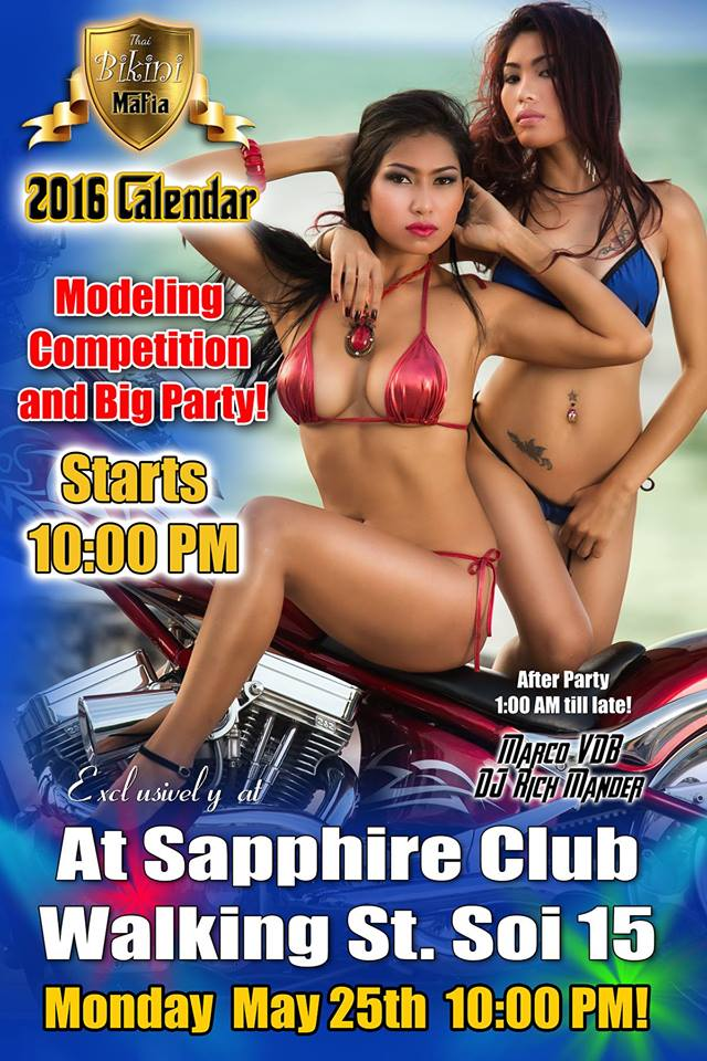 MODELING COMPETITION SAPPHIRE CLUB PATTAYA - MODELING CONTEST AT SAPPHIRE CLUB