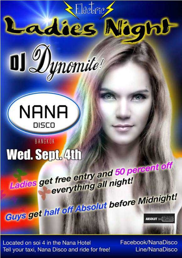 Nana Disco Ladies Night - Ladies Night At Nana Disco