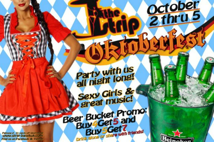 OCTOBERFEST THE STRIP PATPONG - The Strip GoGo Bar Celebrate Oktoberfest