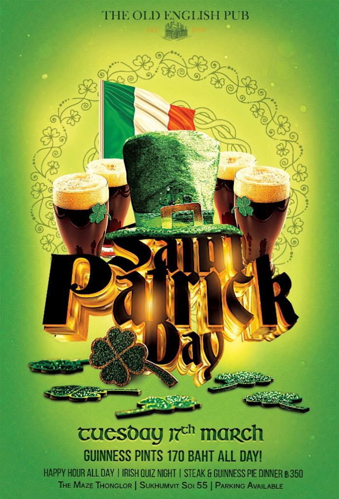 Old English Paddys Day 697x1024 - Happy Saint Patricks Day!