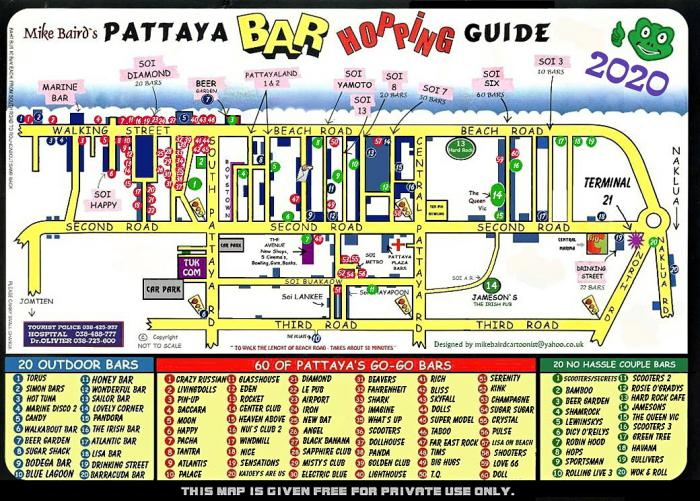 Pattaya Bar Guide 2020 - Pattaya Bar Guide 2020
