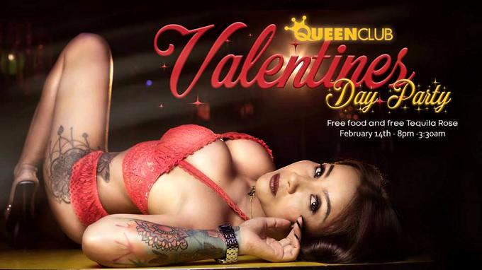 Queen Club Pattaya - Pattaya Valentine's Day Parties