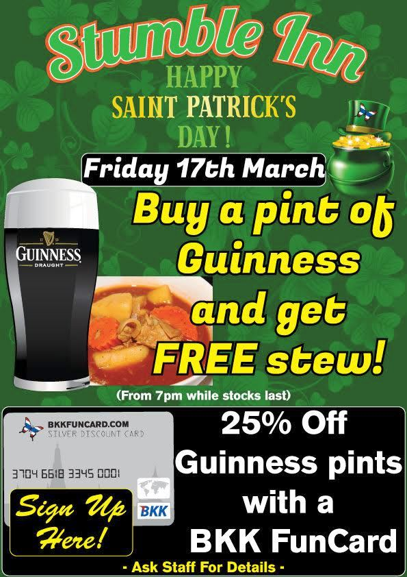 ST PATRICKS DAY - Saint Patrick's Day Special Offer