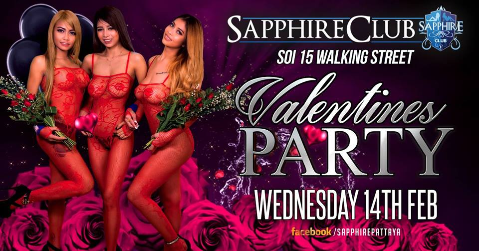 Sapphire Club Valentines Party - Sapphire Club Valentine's Day Party