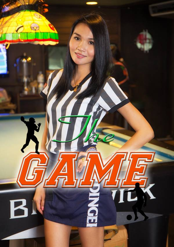 Sexy Server The Game Sports Bar Bangkok - The Game Sports Bar & Grill Bangkok