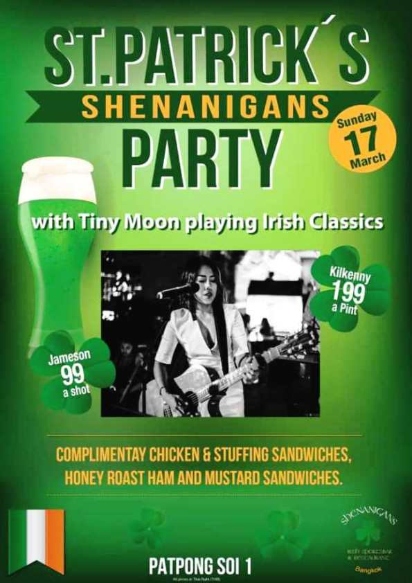 Shenanigans Saint Paddys - Enjoy Saint Patrick's Day!