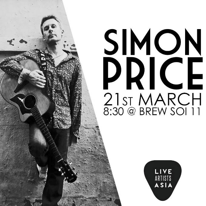 Simon Price - Live Music At Brew Bar Bangkok