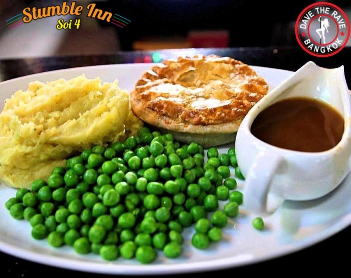 Stumble Inn Pub Grub - Stumble Inn Pie & Pint Promo