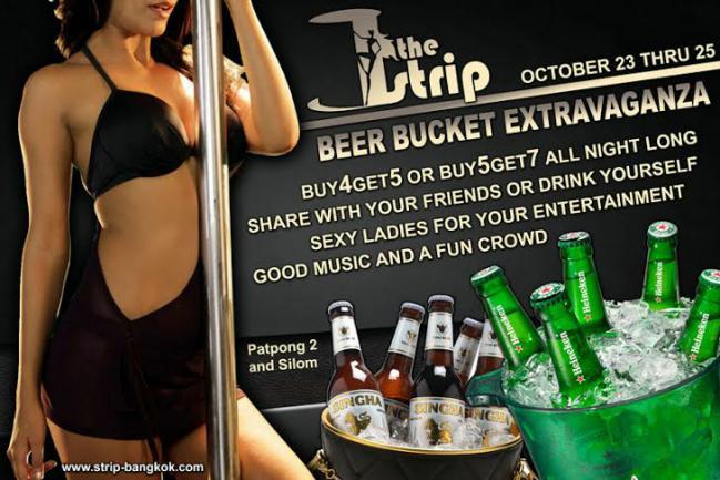THE STRIP BANGKOK - Beer Bucket Extravaganza At The Strip