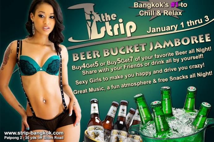 THE STRIP BEER BUCKET JAMBOREE1 - WISHING YOU A HAPPY NEW YEAR