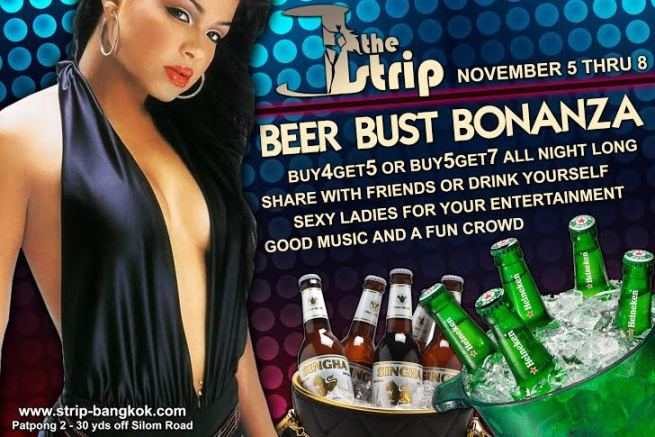 THE STRIP PROMOTION - BEER BUST BONANZA AT THE STRIP