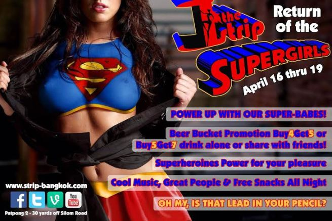 THE STRIP SUPERGIRLS - SONGKRAN ENDS IN BANGKOK