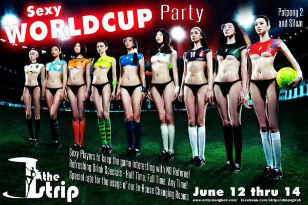 THE STRIP WORLD CUP PARTY - Sexy World Cup Party At The Strip