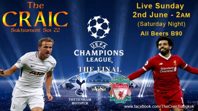 The Craic Bar - UEFA European Cup Final