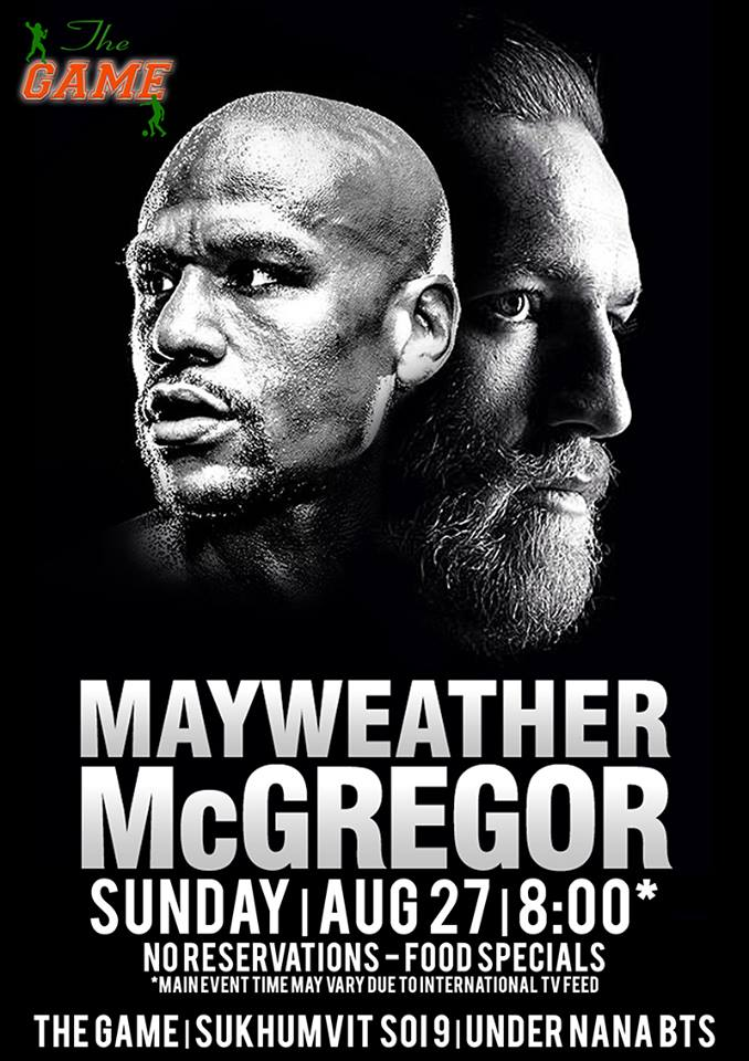 The Game Mayweather McGregor - Mayweather VS McGregor (WBC Title)