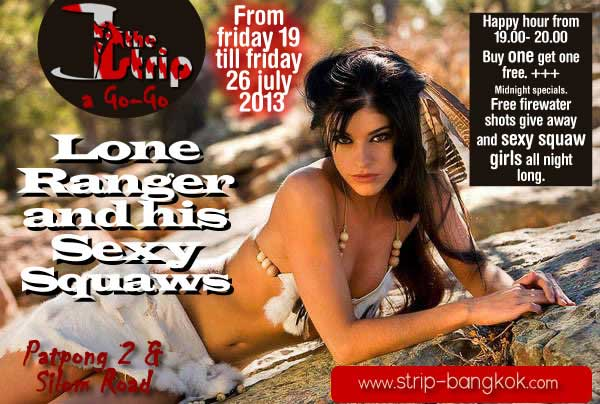 The Strip Agogo Patpong 2 - The Strip Go-Go Bar Hosts Lone Ranger Week