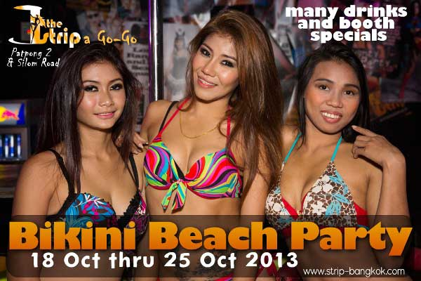The Strip Beach Party - Bikini Beach Party At The Strip Go-Go Bar