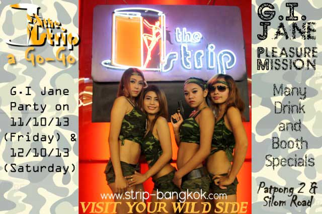 The Strip GI Jane Party1 - GI Jane Party At The Strip Go-Go Bar