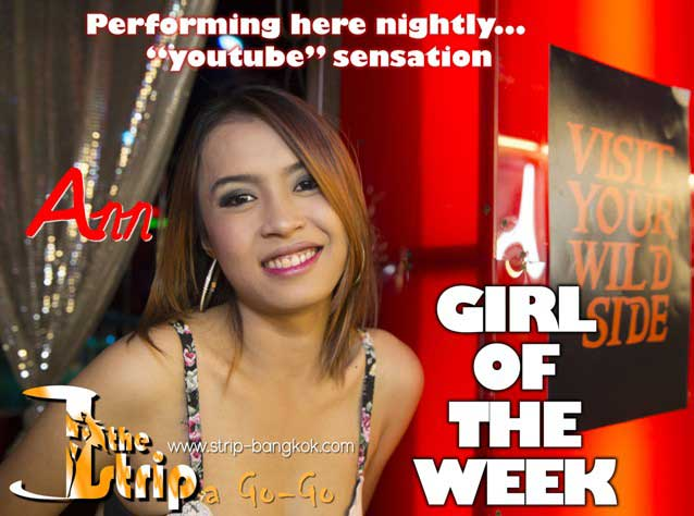 The Strip Patpong 2 Bangkok - Girl Of The Week From The Strip