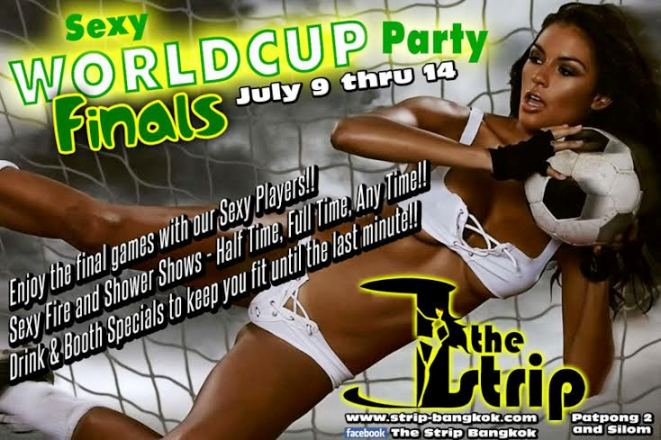 WORLD CUP PARTY THE STRIP - World Cup Finals Party At The Strip