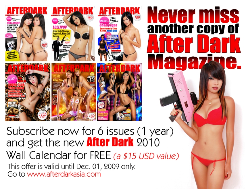 AFTER DARK ASIA MAGAZINE THAI GO-GO GIRLS