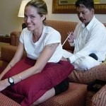 angelina jolie gets a tattoo from ajan noo 150x150 - Thai Girls & Tattoos - Hot Or Not?