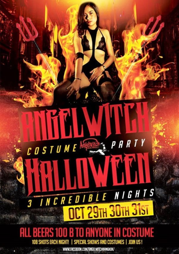 angelwitch halloween party 1 - Enjoying Halloween In Bangkok