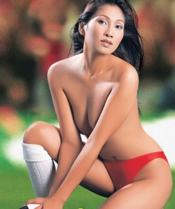 Asian Football Babe