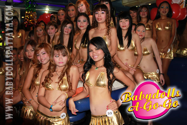 BABY DOLLS GO-GO BAR SOI 15 WALKING STREET PATTAYA