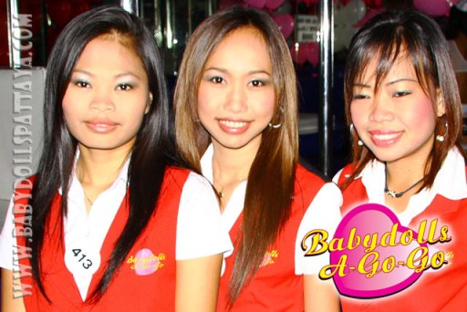 BABY DOLLS GO-GO BAR, SOI 15 WALKING STREET, PATTAYA