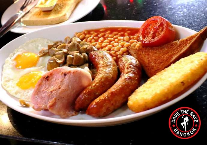 british breakfast stumble inn bangkok 1 - Baht Buster British Breakfast