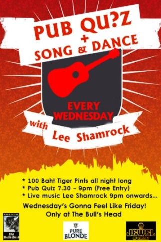 bulls head pub promo1 - Wild Wednesdays In Bangkok